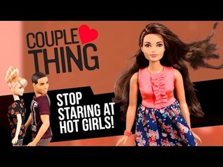 When Your Boyfriend Checks Out a Hot Girl   Barbie vs Ken   CoupleThing