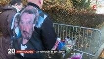 Mort de Johnny Hallyday : les hommages se succèdent