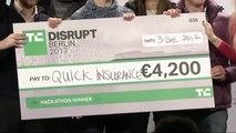Quick Insurance wins Disrupt Berlin 2017 Hackathon