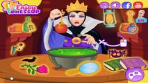 Snow White and the Evil Queen's Spell Disaster - Disney Princess Makeup and Dress Up Games for Kids-26izPCo6scM