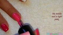 TOOTHPICK NAIL ART #25 _ Breast Cancer Awareness Nails Design-_hI5W-oaQmA