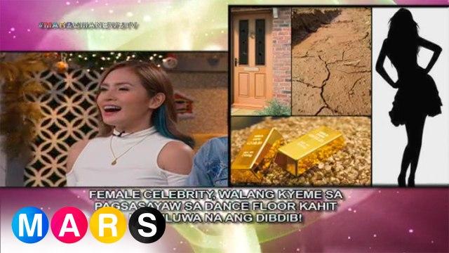 Mars Mashadow: Female celebrity, walang kyeme sa pagsasayaw kahit lumuluwa na ang dibdib?