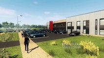 Bourg-en-Bresse : les images du futur parc d'activités Eden Park n