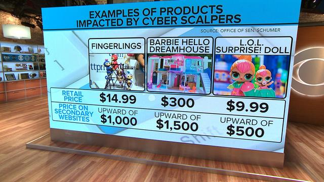 """How """"grinch bots"""" are driving up the prices of hot holiday toys"""