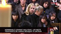 Hommage à Johnny Hallyday : Les mots touchants de Carole Bouquet pour Laeticia (vidéo)