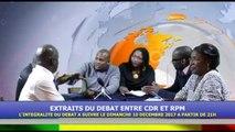 Cdr France - EXTRAITS DU DEBAT ENTRE LE CDR ET RPM AFFAIRE A SUIVRE