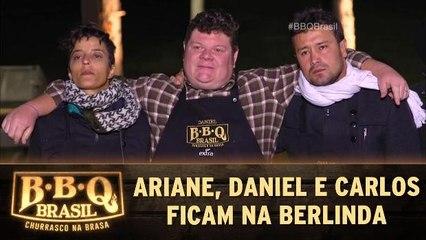 Ariane, Daniel e Carlos ficam na berlinda na semifinal