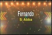 Abba Fernando Karaoke Version