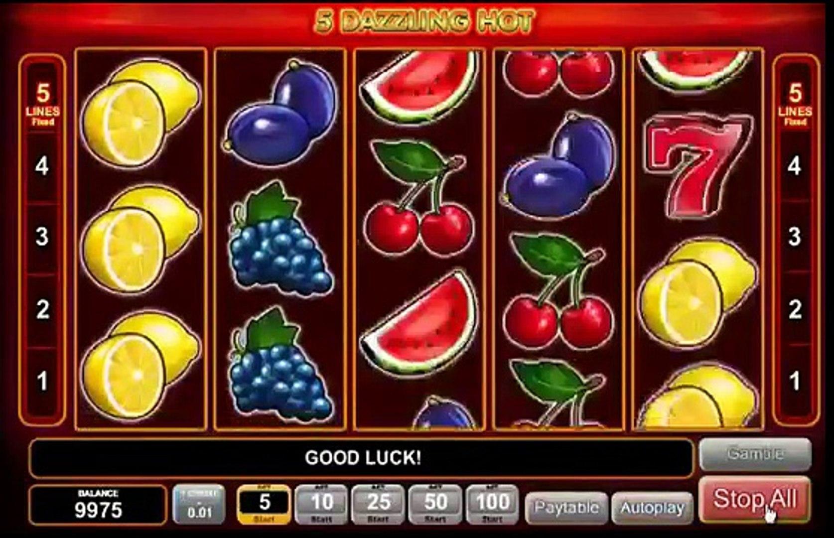 New 5 Dazzling Hot Slot Machine Online 77777 Free Game Video