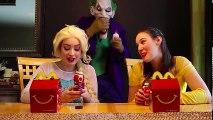 #1Spiderman ATTACK Frozen Elsa w  Joker Maleficent Belle Spidergirl Iron Man Hair Stuck Fun (2) | Superheroes | Spiderman | Superman | Frozen Elsa | Joker