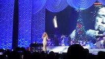"""Hommage à Johnny Hallyday : Mariah Carey chante """"Que je t'aime"""" lors d'un concert à Paris (vidéo)"""