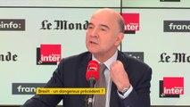 """Pierre Moscovici : Après le Brexit, le risque est que la Grande Bretagne tente d'avoir une attractivité fiscale extrêmement forte"""""""