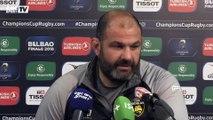 Champions Cup – Collazo : ''Pour faire un grand match, il ne faut pas prendre 5 essais''
