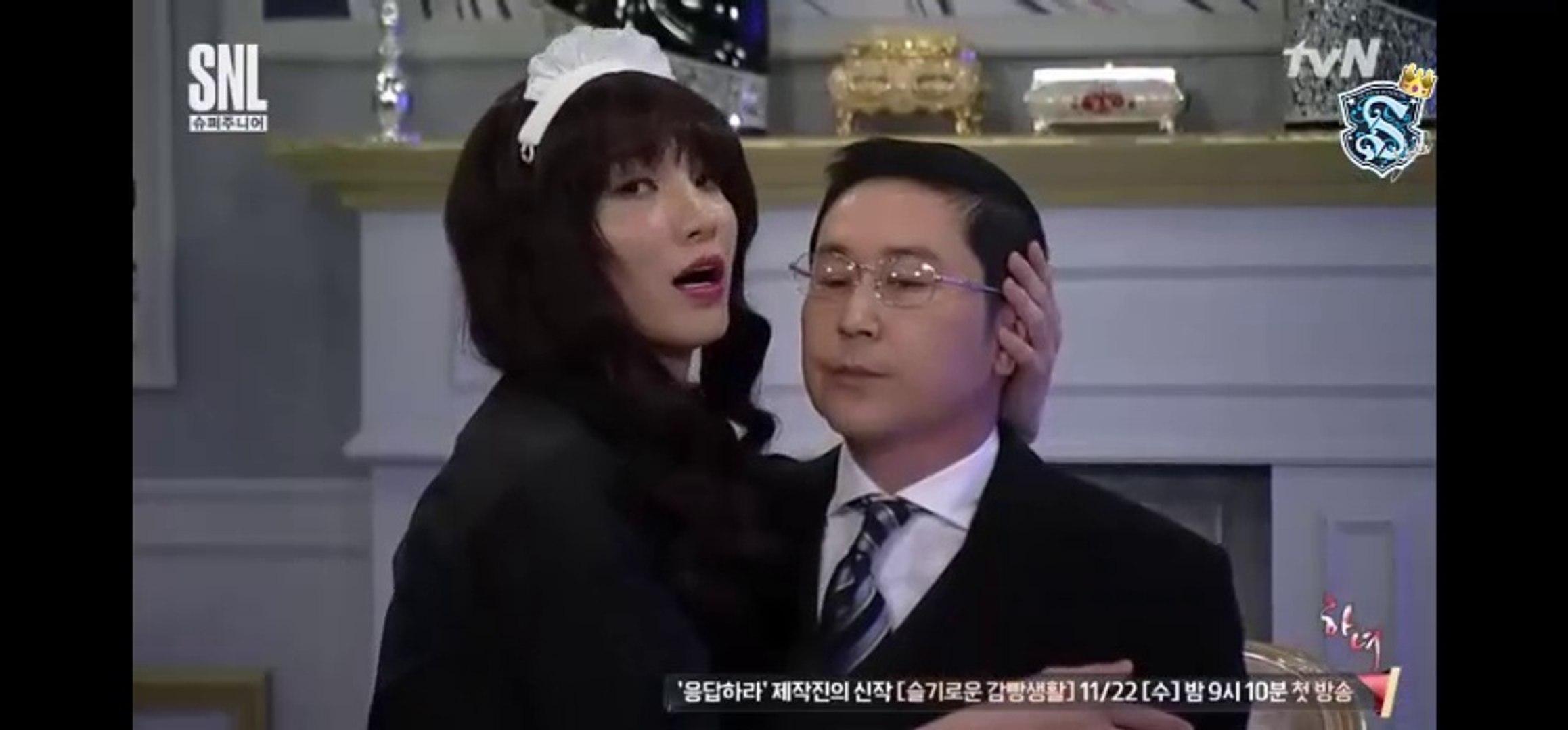 Super Junior en SNL Korea/La doncella [Sub  Español]