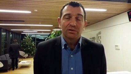 VIDEO. Territoriales 2017. La réaction de Jean-Charles Orsucci