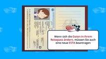 ESTA VISA USA : Cosa accade in caso c'è un cambio delle informazioni del passaporto?