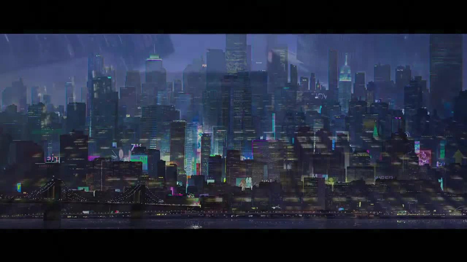 Spider Man Into The Spider Verse Teaser Trailer Video Dailymotion