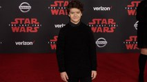 "Gaten Matarazzo ""Star Wars The Last Jedi"" World Premiere Red Carpet"