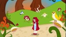 Little Red Riding  Hood in Hindi   1 Tale + 4 Rhymes   बच्चों की नयी हिंदी कहानियाँ और कविताएँ  