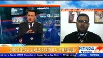 """""""A veces hay que partir las hostias para poder administrarla a los feligreses""""  padre Jesús Salvador Lárez, sobre escasez de insumos religiosos en Venezuela"""