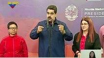Maduro critica que opositores no participen en elección