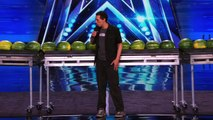 Trizzie D - Man Breaks World Record by Smashing 45 Watermelons With His Head - America's Got Talent-lxsvt07jrYg