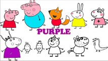Peppa Pig Coloring Pages - Peppa Pig and Friends Coloring Book for Learning Colors-n9-MMz4ANXM