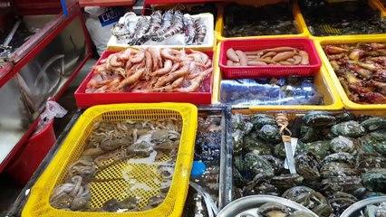 산낙지 먹기! Eм живого осьминога!? Eating live octopus in Korea!?