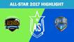 Highlight: Siêu Sao Bắc Mỹ (NA LCS) vs Siêu Sao Brazil (CBLOL) - All-Star 2017 Highlight