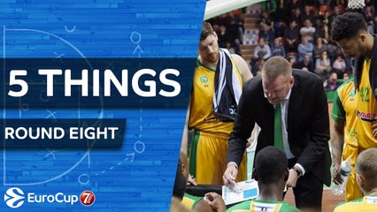 7DAYS EuroCup Regular Season Round 8: 5 Things to Know