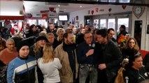 Les fans bisontins rendent hommage à Johnny Hallyday
