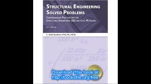 Structural Engineering Solved Problems, 5th Ed