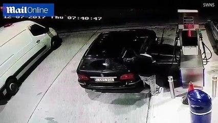Petrol stealing