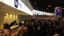 De nombreux voyageurs bloqués à l'aéroport de Nice en raison des mauvaises conditions météo