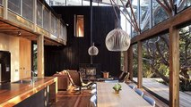 Wooden walls in the house - Wood Walls Home Interior Design - YouTube