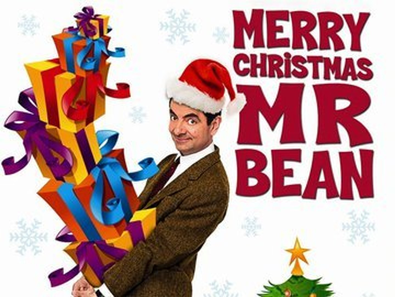 Mr Bean Christmas.Merry Christmas Mr Bean