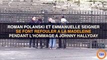 Hommage à Johnny Hallyday : Roman Polanski se fait refouler à l'entrée de l'église