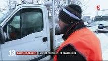 Tempête Ana : le Nord et le Pas-de-Calais touchés par de fortes chutes neige
