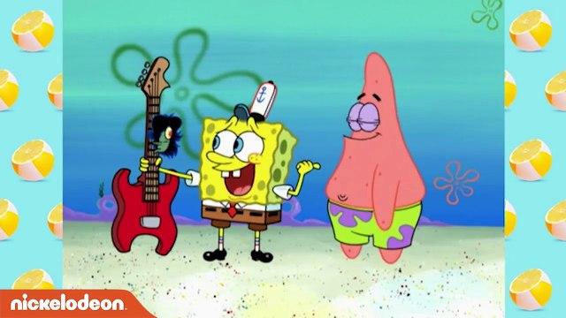 SpongeBob Squarepants -  Patrick en SpongeBob in een rockband! - Nickelodeon Nederlands