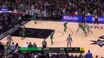 Triple final de Manu Ginóbili para ganar el partido Spurs Vs Celtics