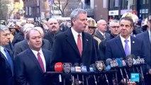 """Explosion à New York : le maire de la ville, Bill de Blasio, parle d''une """"tentative d''attaque terroriste"""""""