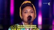 """Imany, la chorale de France Télévision et la chorale du Slip Français interprètent """"Silver Linings"""""""