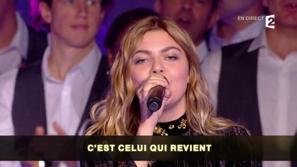 """Louane et la chorale d'Optic 2000 interprètent """"Jour 1"""""""