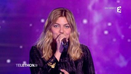 """Louane interprète """"On était beau"""""""