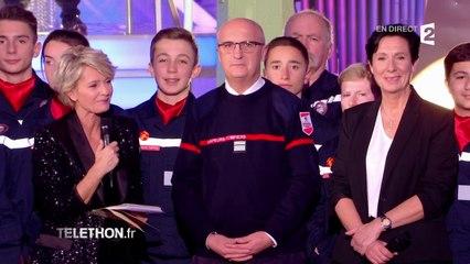 Les sapeurs pompiers de France soutiennent le Téléthon
