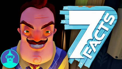 7 HELLO Neighbor Facts YOU Should Know!!! | The Leaderboard