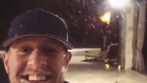 NFL Star J.J. Watt's Excitement Over Rare Snowfall In Houston Is Contagious