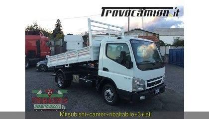 Mitsubishi Canter Ribaltabile 3 lati
