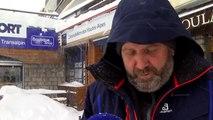 Plus d'un mètre de neige à Montgenèvre