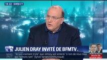 """Pour Julien Dray, la parti socialiste a """"peut-être déjà un pied dans la tombe"""""""